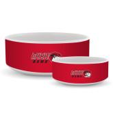 Ceramic Dog Bowl-WSSU Rams Horizontal