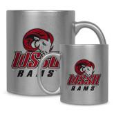 Full Color Silver Metallic Mug 11oz-WSSU Rams
