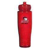 Spectrum Red Sport Bottle 28oz-WSSU Rams