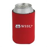 Neoprene Red Can Holder-WSSU Rams