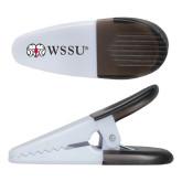 White Crocodile Clip/Magnet-Ram WSSU