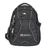 High Sierra Swerve Black Compu Backpack-Ram WSSU