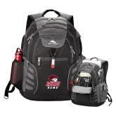 High Sierra Big Wig Black Compu Backpack-WSSU Rams