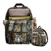 Heritage Supply Camo Computer Backpack-WSSU Ram