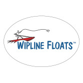Large Decal-Wipline Floats, 8.5 inches wide