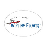 Small Decal-Wipline Floats, 5 inches wide