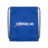Royal Drawstring Backpack-Wipaire Inc