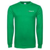 Kelly Green Long Sleeve T Shirt-Wipaire Inc