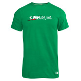 Russell Kelly Green Essential T Shirt-Wipaire Inc