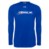 Under Armour Royal Long Sleeve Tech Tee-Wipaire Inc