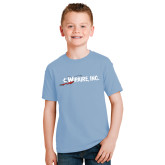 Youth Light Blue T Shirt-Wipaire Inc
