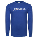 Royal Long Sleeve T Shirt-Wipaire Inc