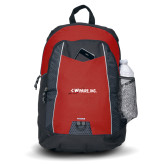 Impulse Red Backpack-Wipaire Inc