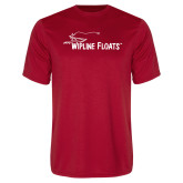 Performance Red Tee-Wipline Floats