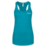 Next Level Ladies Tahiti Blue Ideal Racerback Tank-Wipaire Inc