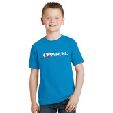 Youth Sapphire T Shirt-Wipaire Inc