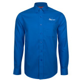 Red House French Blue Long Sleeve Shirt-Wipline Floats