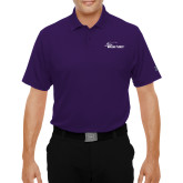 Under Armour Purple Performance Polo-Wipline Floats