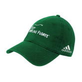 Adidas Kelly Green Slouch Unstructured Low Profile Hat-Wipline Floats