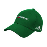 Adidas Kelly Green Structured Adjustable Hat-Wipaire Inc