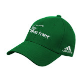 Adidas Kelly Green Structured Adjustable Hat-Wipline Floats