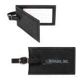 Sorano Black Luggage Tag-Wipaire Inc Engraved