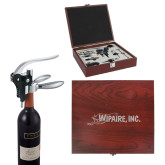 Executive Wine Collectors Set-Wipaire Inc Engraved