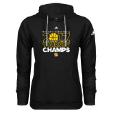 Adidas Climawarm Black Team Issue Hoodie-2017 Womens Basketball Tourney Champs