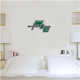 1.5 ft x 3 ft Fan WallSkinz-WLC Diagonal w/ Sword