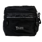 All Sport Black Cooler-Wisconsin Lutheran College Stacked