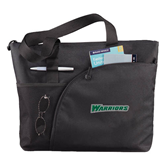 Excel Black Sport Utility Tote-Warriors