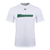 Under Armour White Tech Tee-Warriors