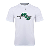 Under Armour White Tech Tee-WLC Diagonal w/ Sword