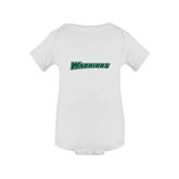 White Infant Onesie-Warriors