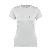 Ladies Syntrel Performance White Tee-Warriors