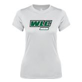 Ladies Syntrel Performance White Tee-Mom - WLC