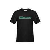 Youth Black T Shirt-Warriors