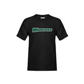 Youth Black T Shirt-Warriors