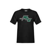 Youth Black T Shirt-WLC Diagonal w/ Sword