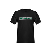 Youth Black T Shirt-Wisconsin Lutheran College Warriors