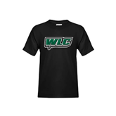 Youth Black T Shirt-WLC w/ Sword