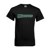 Black T Shirt-Warriors