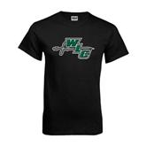 Black T Shirt-WLC Diagonal w/ Sword