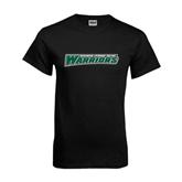 Black T Shirt-Wisconsin Lutheran College Warriors
