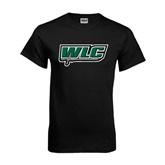 Black T Shirt-WLC w/ Sword
