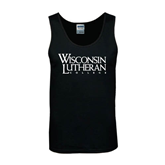Black Tank Top-Wisconsin Lutheran College Stacked