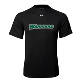Under Armour Black Tech Tee-Warriors