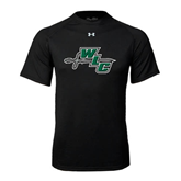 Under Armour Black Tech Tee-WLC Diagonal w/ Sword
