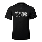 Under Armour Black Tech Tee-Wisconsin Lutheran College Stacked