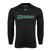 Under Armour Black Long Sleeve Tech Tee-Warriors